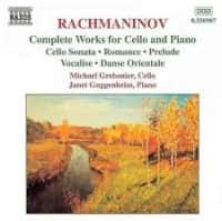 [拉赫玛尼诺夫 g小调大提琴与钢琴奏鸣曲]~ Sarah Hughes短节目(02-03)