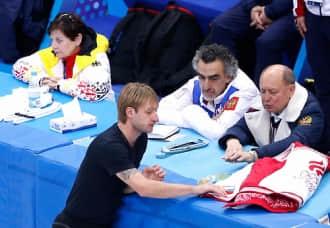 Plushenko热身训练,第四次参加冬奥会期待完美谢幕