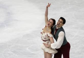 世锦赛冰舞 意大利组合首次加冕 优势仅0.02分